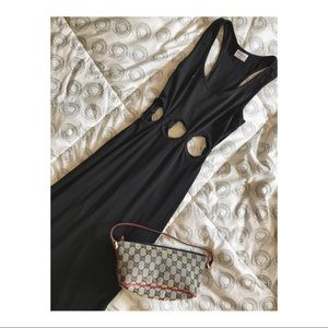 ✨UNAVAILABLE ✨ Black Cotton Maxi Dress